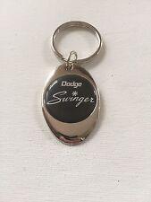 Dodge Swinger Keychain Chrome Metal Dodge Key Chain
