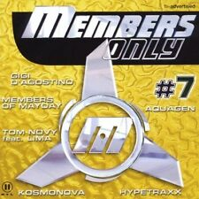 Members only #07 (2000) Gigi d'Agostino, HypeTraxx, Aquagen, paffendo [double CD]