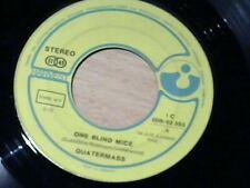"7"" QUATERMASS * One Blind Mice / Punting (PROGRESSIVE ROCK)"