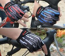 Mesh Pro Cycling Gloves Bike Bicycle GEL Shockproof Sports Half Finger Glove