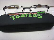 Full Box 10 TEENAGE MUTANT NINJA TURTLE Style INGENIOUS BLACK 46-17-125 Eyeglass