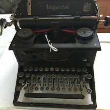 More details for vintage typwriter imperial. not working but has all parts for display or restore