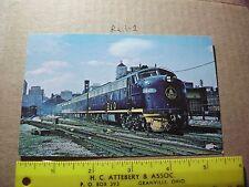 Chicago B&O Chesapeake Ohio Station depot Grand central 1449 Capital limited run