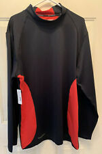 NORDIC TRACK. MEN'S LONG SLEEVE THERMAL MOCK NECK SHIRT. SIZE XXL. NWT