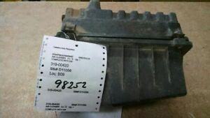 Air Cleaner 2.0L DOHC Excluding SVT Fits 00-04 FOCUS 98252