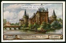 Belgium Castles Oost Vlaanderen Laarne 1930s Trade Ad Card