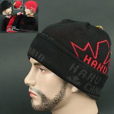a05a0f8bb62 Beanie CANADA BLACK red Skull Head Wrap Knit Outdoor Sports Hat Ski Unise