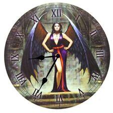 Bilderuhr Dunkler Engel Gothic Fantasy Wanduhr Uhr