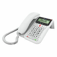 BT Decor 2600 Advanced Call Blocker Corded Telephone - White -