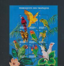XC95032 Congo animals fauna flora birds XXL sheet MNH