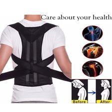 Adjustable Posture Corrector Men Women Bad Back Support Brace Shoulder Belt