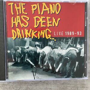 THE PIANO HAS BEEN DRINKING - Live 1989-93 (CD chlodwig 74321176362 / NM)