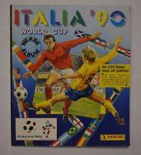 Panini Fifa WM 1990 Italien Sammelalbum nicht komplett 72 Fehlsticker gut ( 35 )