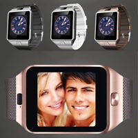 Bluetooth DZ09 GSM Smart Camera For Android SIM Card Wrist Watch Phone luxury