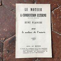 Istruzioni Brevetto Rene Tabellone Il Motore Con Ore Esterno Singolo Au Cup 1958