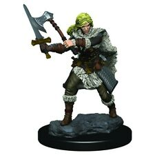 RPG Miniatures Adventurers Human Female Barbarian - Premium Figure