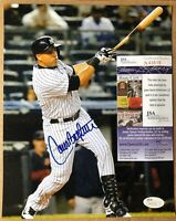 Carlos Beltran NY Yankees Autographed 8x10 photo with JSA COA