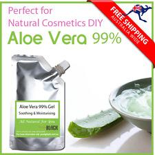 Aloe Vera 99% Gel Soothing Moisturising 100ml  Perfect for DIY Skin Care 100ml