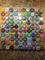 Variety Bottle Caps 100 Ct. ((NO DENTS OR SCRATCHES)) Good Mix