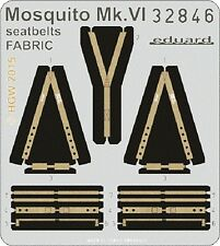 eduard 32846 1/32 Aircraft- Mosquito Mk VI Seatbelts Fabric for Tamiya (Painted)