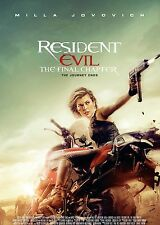 Resident Evil The Final Chapter Dvd FREE SHIPPING