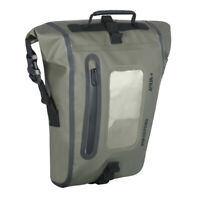 Oxford Aqua M8 Magnetic Tank Bag Black/ Khaki ideal for Motorbikes - OL404