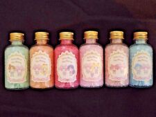 Sailor Moon My Melody 7-11 Limited Bath Salt Complete set of 6 Unboxed