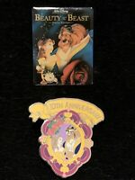 DISNEY STORE BEAUTY AND THE BEAST PRE ORDER PINS #1 AND #2 PIN SET
