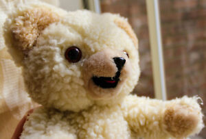 """Russ Snuggle Bear 11"""" (1986) - Used Condition"""