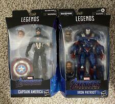 Marvel Legends- Worthy Captain America & Iron Patriot (Endgame)