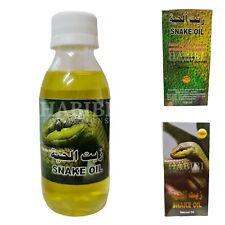 Serpent Huile Naturel Cheveux Sans Produits Chimiques 125ml De Saudi Arabie