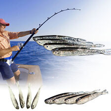 4Pcs/Pack Black Mini Fishing Lures Crankbaits Hooks Minnow Baits Fish Tackles