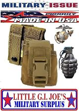 NEW USMC Molle Coyote M67 Grenade Pouch NSN: 8465-01-558-5185