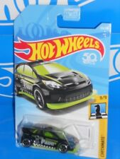 Hot Wheels 2018 Checkmate Series #139 '12 Ford Fiesta Black PAWN
