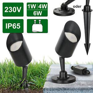 LED Außen Leuchte Garten Strahler IP65 Pflanzen Spot Aufbauspot Leuchte Lori