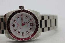 Womens Zodiac Sea Dragon ZO2279 Pink Bezel Steel Watch New Batt