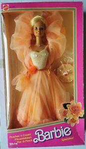 Barbie peaches'n cream 1984 fiori di pesco con scatola sigillata