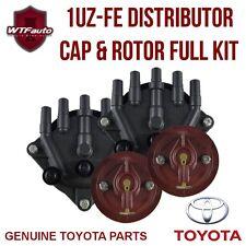 1UZ-FE Distributor Cap & Rotor Kit Soarer Celsior SC400 LS400 UZZ30 UZZ31 UZS14*