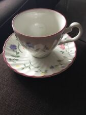JOHNSON BROTHERS TEA CUP AND SAUCER SUMMER CHINTZ
