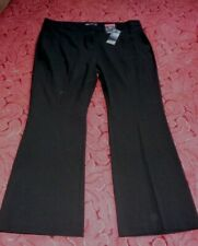 Ladies New with tags Marks & Spencer smart black slim boot Trousers Size 18
