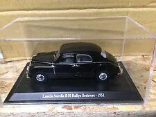 "DIE CAST "" LANCIA AURELIA B10 RALLYE SESTRIERE - 1951 "" + TECA RIGIDA BOX 2 1/43"