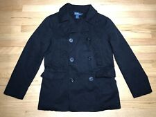 VTG POLO RALPH LAUREN NAVAL SUPPLY MILITARY DOUBLE BREASTED JACKET PEA COAT