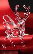 SWAROVSKI Natale Ornamento Stag 5135847 Nuovo di zecca Boxed RITIRATO RARO