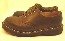 Dr Martens Brown Distressed Leather Oxfords Shoes.  Women's size 7  UK 5