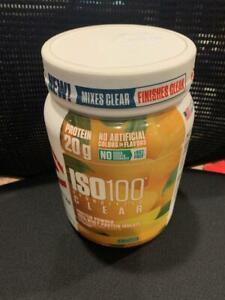 Dymatize ISO100 Hydrolyzed Clear Protein Powder, Mango, 1.1LB, EXP 03/21