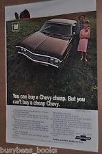1969 CHEVROLET advertisement, Chevrolet Impala Sport Coupe, Chevy