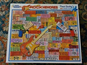 Rock Memories by Charlie Girard 1000 piece Jigsaw puzzle 2012 White Mountain