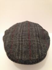 gents country side Scottish harris tweed 100% wool flat cap direct from SCOTLAND