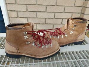 Vasque Vtg Brown Lace-Up USA Leather Hiking Mountaineering Boots Men's US 13 M