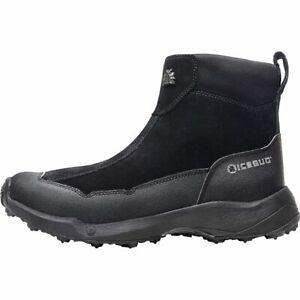 NIB Icebug Metro2 BUGrip Men's  Studded Winter Ice Boot Black US 9.5 EU 42.5